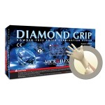 Microflex Diamond Grip Latex Powder Free