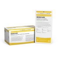 Medline SensiCare with Aloe Powder-Free Surgical Gloves - 100/Case
