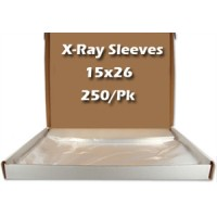 "Xray Sleeves 15"" x 26"" 250/bx. - MARK3"