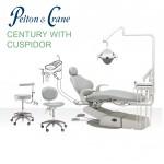Pelton & Crane Century Ellipse Package w/ Cuspidor & Stools
