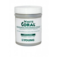 Young White Coral Mint Fine-250 g With Fluoride (9 oz)