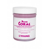 Young Pink Coral Bubble Gum Fine-250 g With Fluoride (9 oz)