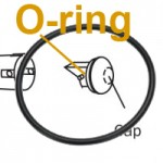 O-Ring Adec Style for Vacuum, Buna-n, 1.239 I.D. x .070 Width, Pkg of 12