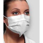 Crosstex Secure Fit Ultra Sensitive Face Mask, 40/Box, 40/ per case - White