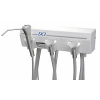 Alternative Arm Mounted Manual Control, 1 Wet & 1 Dry w/Tray & White Flex Arm
