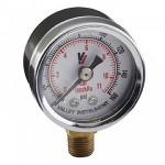 """Pressure Gauge 1 1/2"""" Round 0-160 PSI Bottom Mount"""