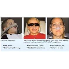 SILHOUETTE Nitrous Oxide Nasal Masks