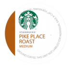 Starbucks Pike Place K-Cups - 54 Cups