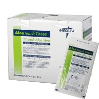 Aloetouch Green Surgical Gloves 50 - Box
