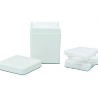 Richmond Dispensers, 4x4 Sponge Dispenser, White - Leakproof/Autoclaveable