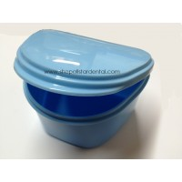 Plasdent Denture Carrier - 12 Light Blue Boxes