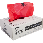 Handi Hopper Liners (100-Box) Bio-Hazard